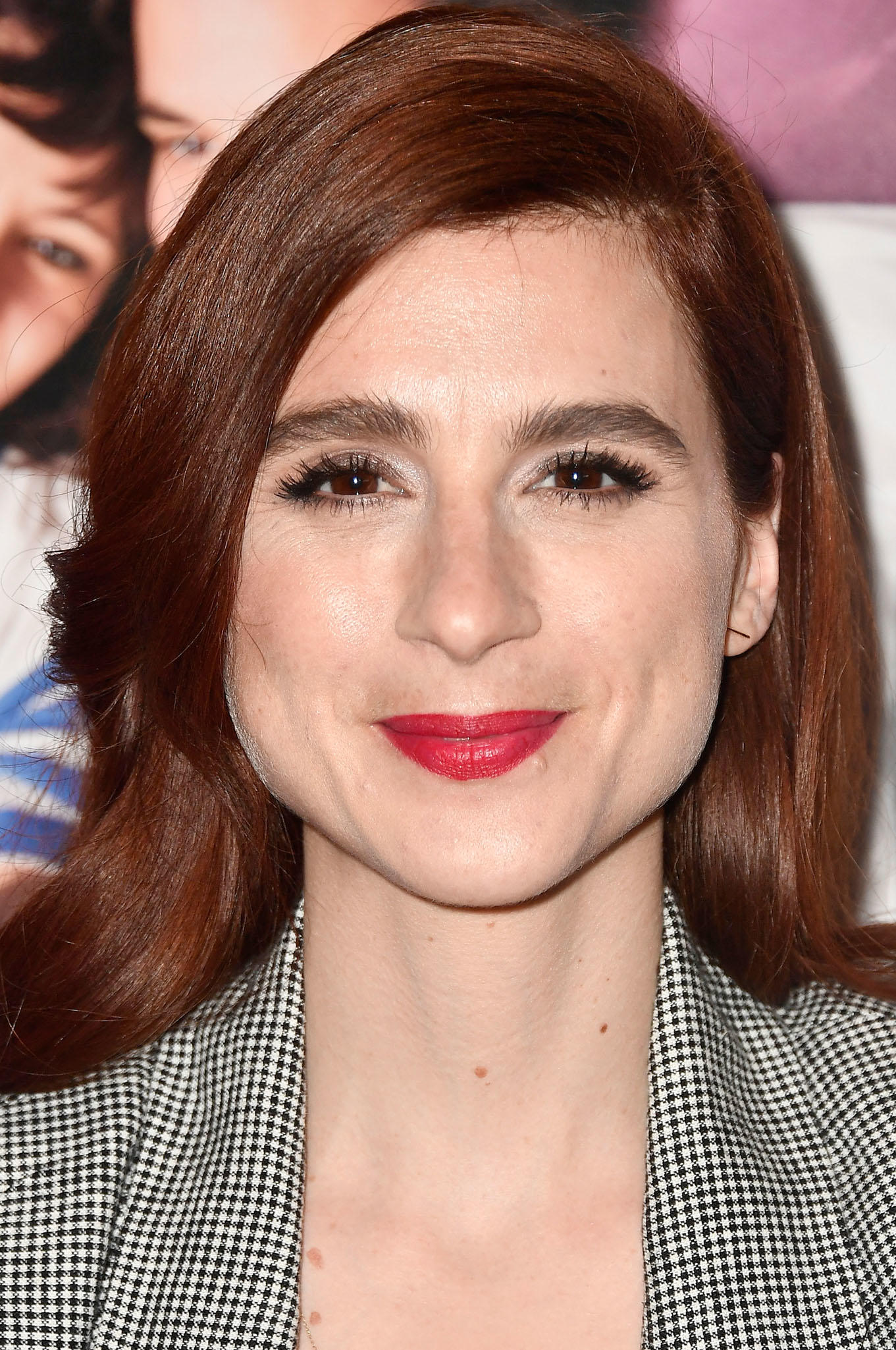 Aya Cash at the premiere of