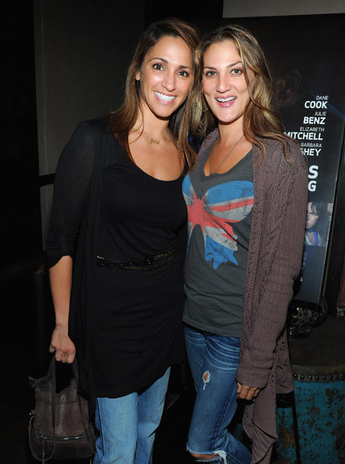 Julia Wolov and Dana Goodman at the California premiere of