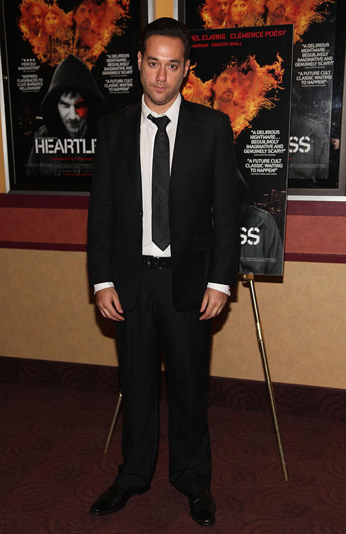 Richard Raymond at the New York premiere of