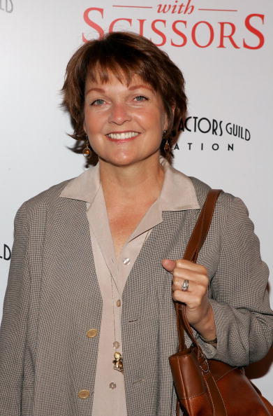 Pamela Reed at the premiere of