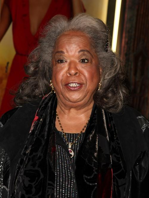 Della Reese at the opening night of