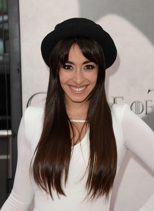 Oona Chaplin at the California premiere of