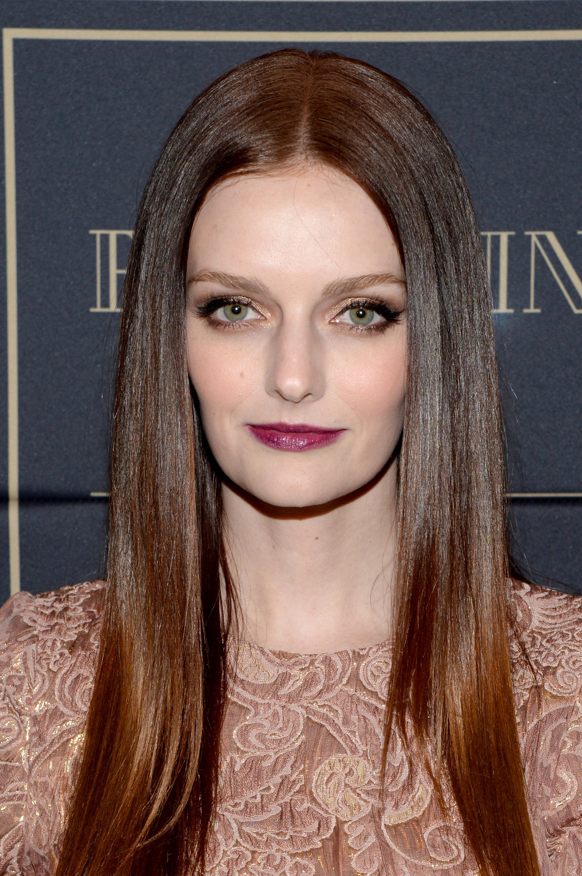 Lydia Hearst at the Balmain x H&M Los Angeles VIP Pre-Launch.