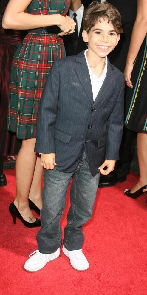 Cameron Boyce at the premiere of