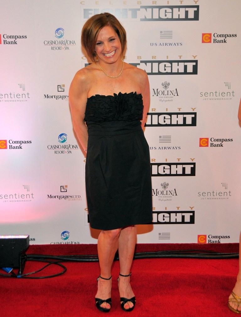 Mary Lou Retton at the Muhammad Ali's Celebrity Fight Night XIV.