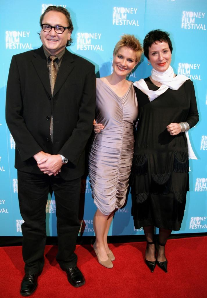 Steve Jacobs, Jessica Haines and Anna Maria Monticelli at the official Sydney Film Festival gala opening of