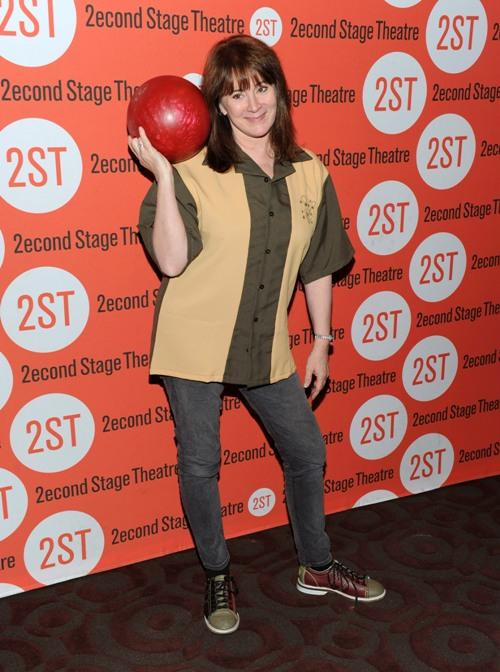 Patricia Richardson at the 23rd Annual Second Stage Theatre All-Star Bowling Classic.