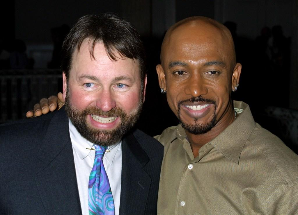 John Ritter and Montel Williams at the nominee announcements for the Daytime Emmy Awards.