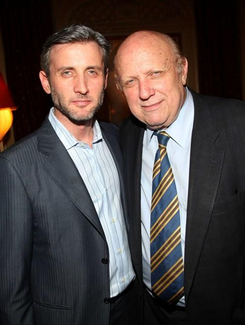 Dan Abrams and Floyd Abrams at the after party of the private screening of