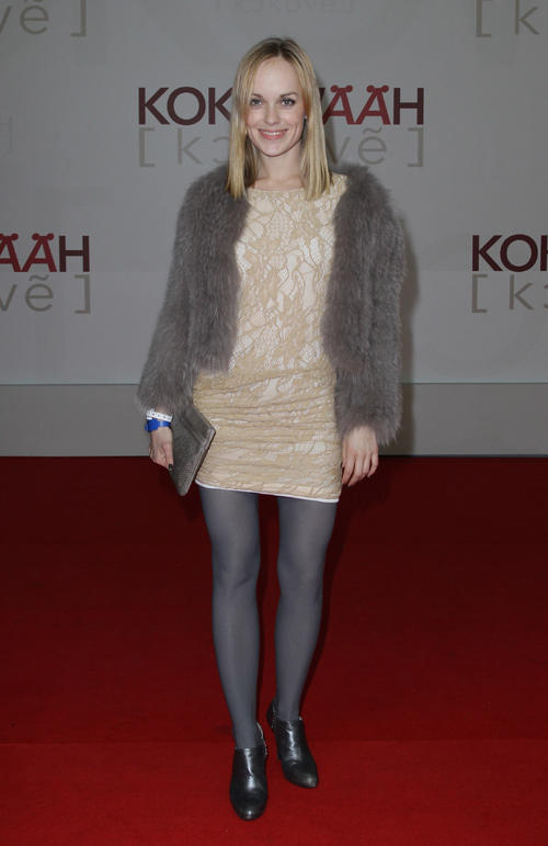 Friederike Kempter at the Germany premiere of