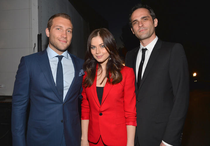 Jai Courtney, Julia Snigir and Rasha Bukvic at the Event of Twentieth Century Fox Celebrates 25 Years of