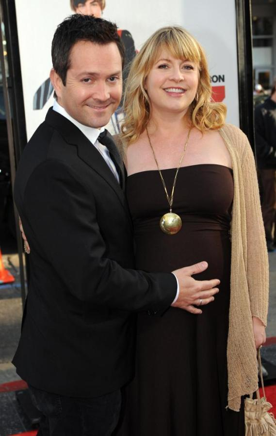 Thomas Lennon and Jenny Robertson at the Los Angeles premiere of