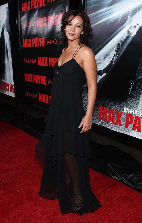Marianthi Evans at the California premiere of