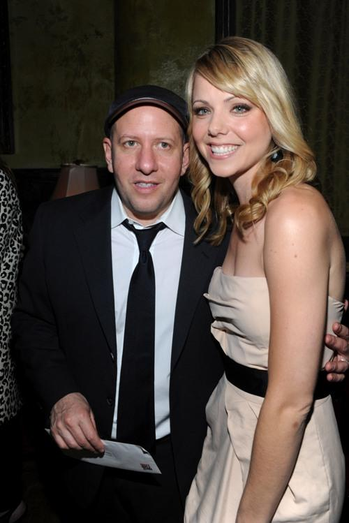 Steve Pink and Collette Wolfe at the after party of the premiere of