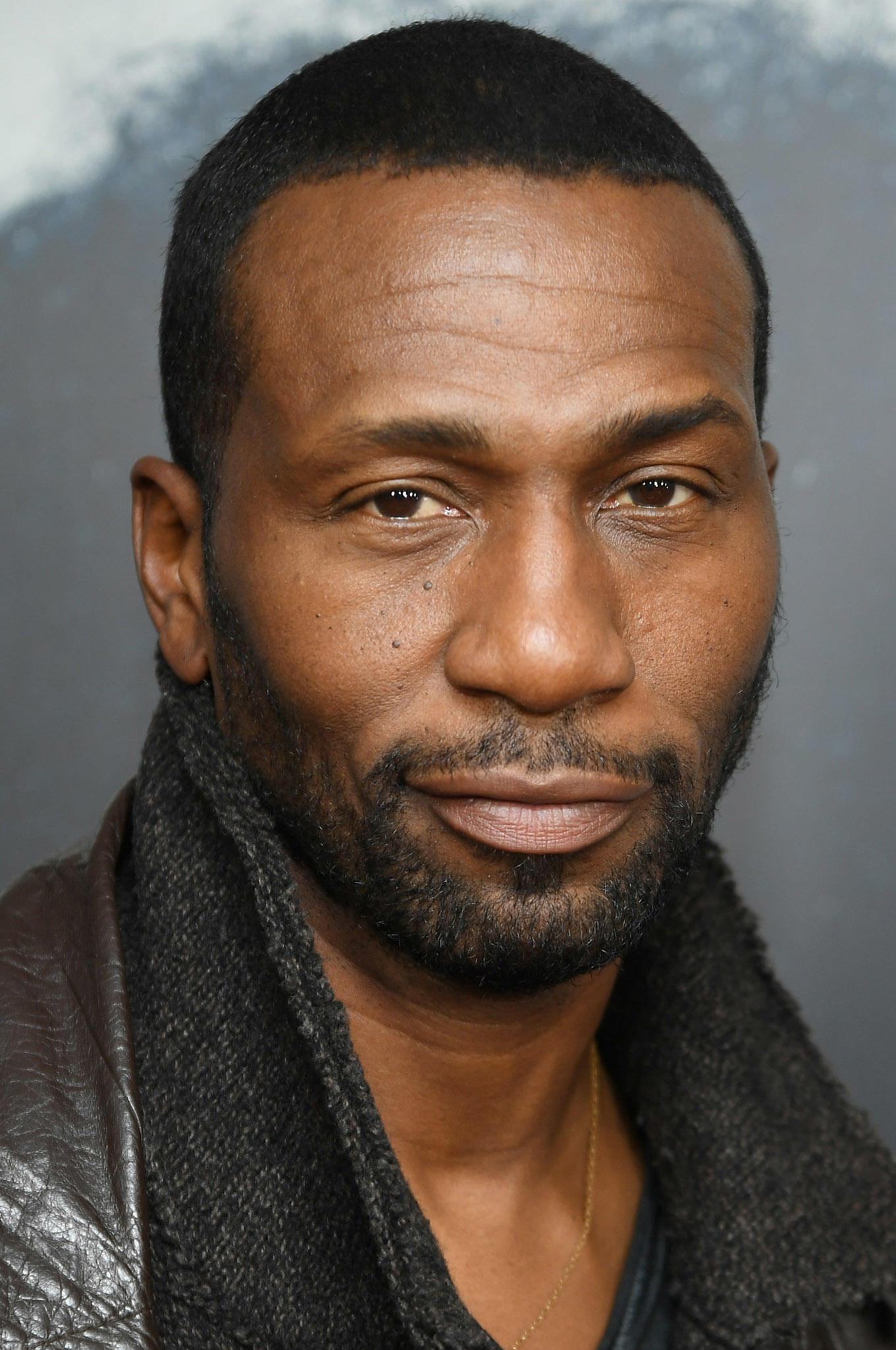Leon Robinson at the New York screening of