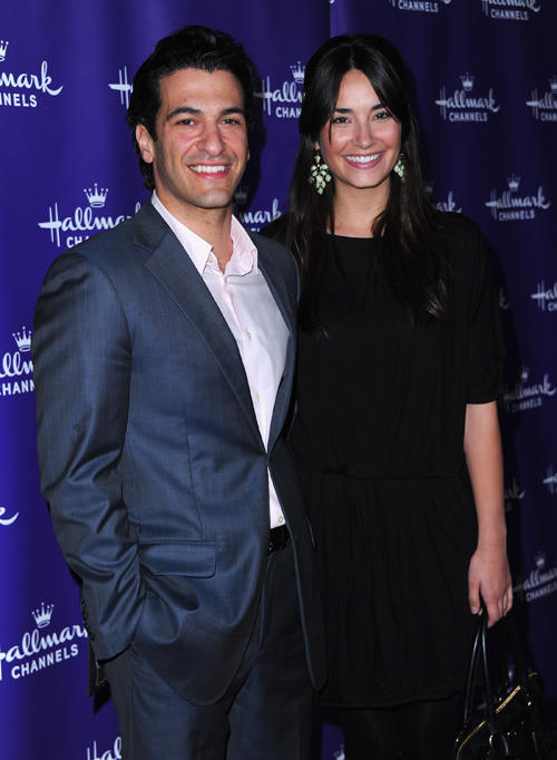Simon Kassianides and Guest at the 2011 TCA Winter Tour Evening Gala in California.