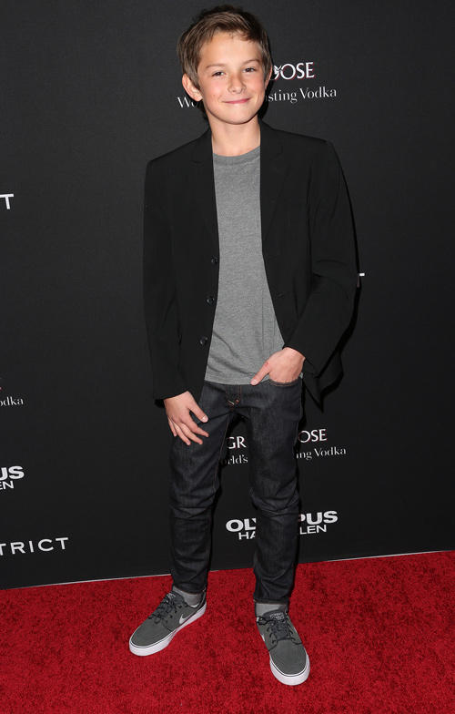 Finley Jacobsen at the California premiere of