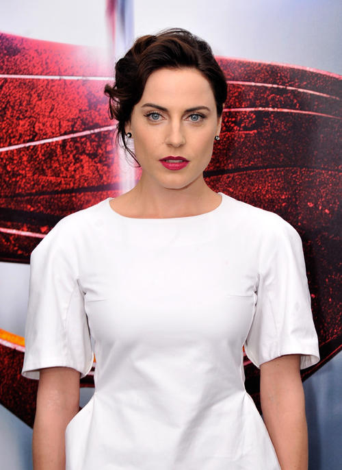Antje Traue at the World premiere