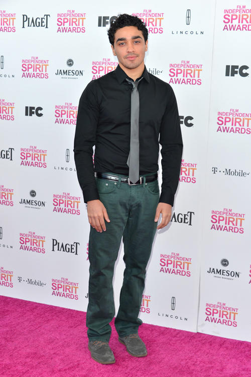 E.J. Bonilla at the 2013 Film Independent Spirit Awards.