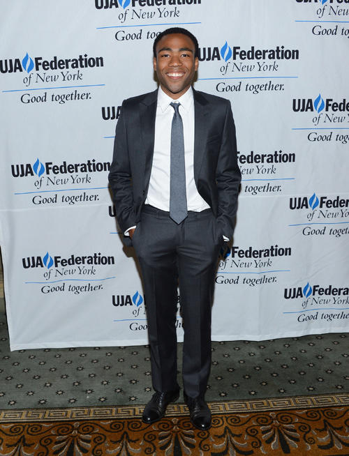 Donald Glover at the UJA-Federation's Music Visionary of The Year Award Luncheon.
