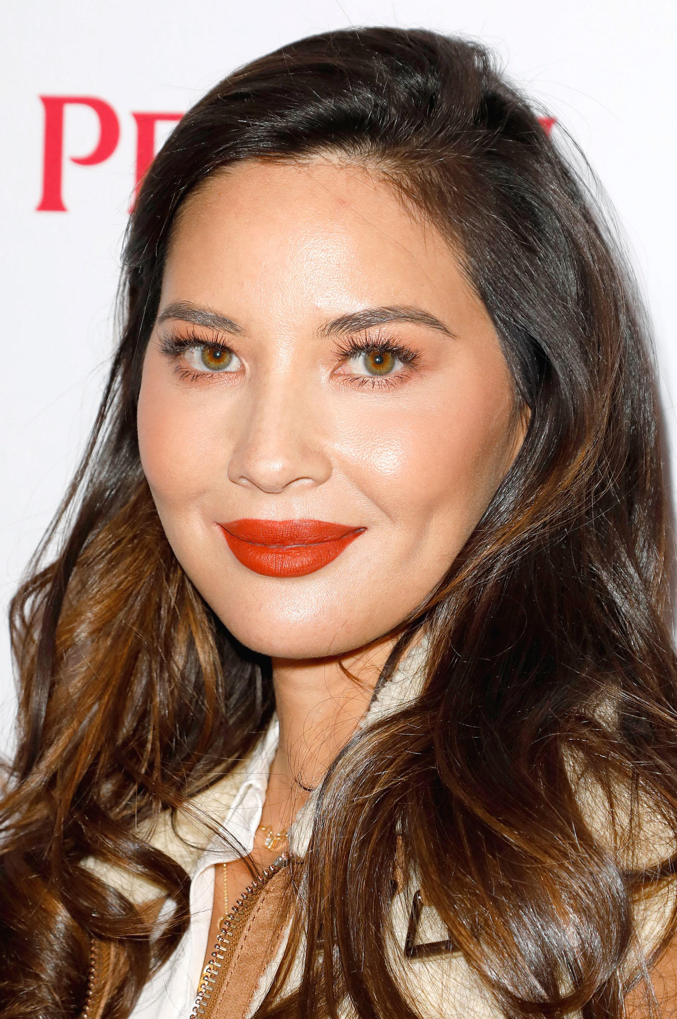 Olivia Munn at The Creative Coalition's Spotlight Initiative Gala Awards Dinner in Park City, Utah.