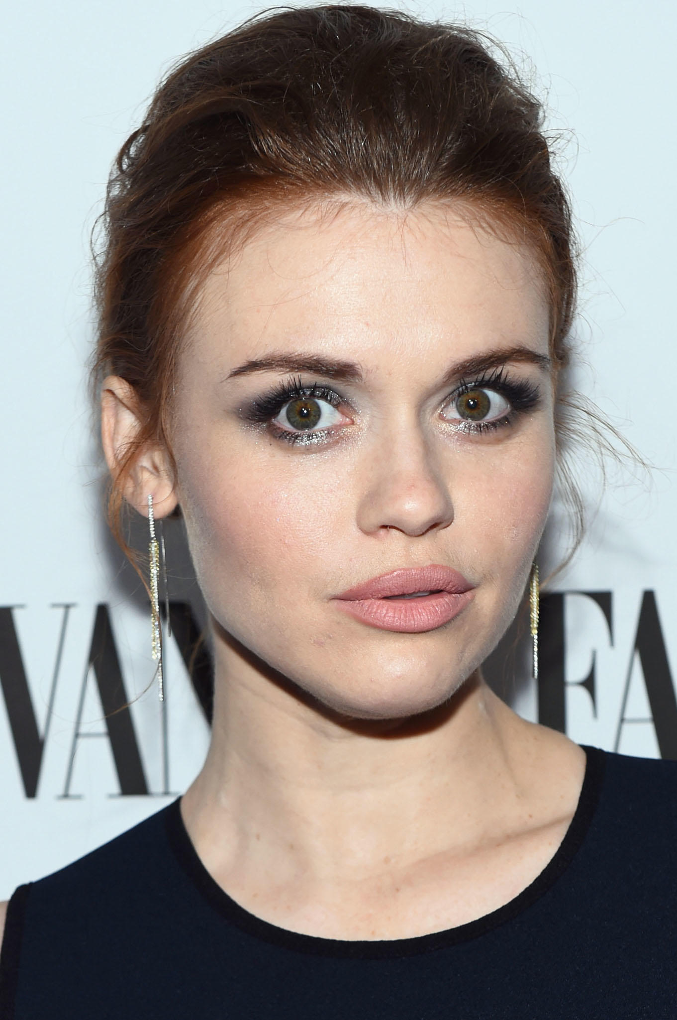Holland Roden at Vanity Fair and L'Oreal Paris Toast to Young Hollywood in West Hollywood, CA