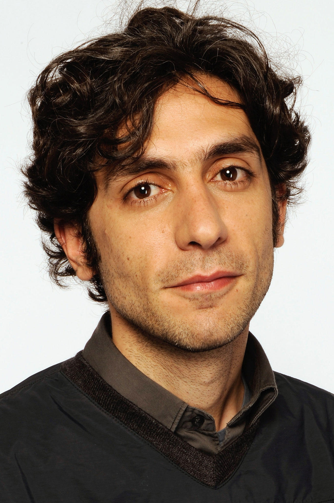Daniel Benmayor at the Tribeca Film Festival 2009 portrait studio.