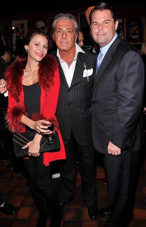 Gia Allemand, Gianni Russo and author Paul Pope at the launch of book