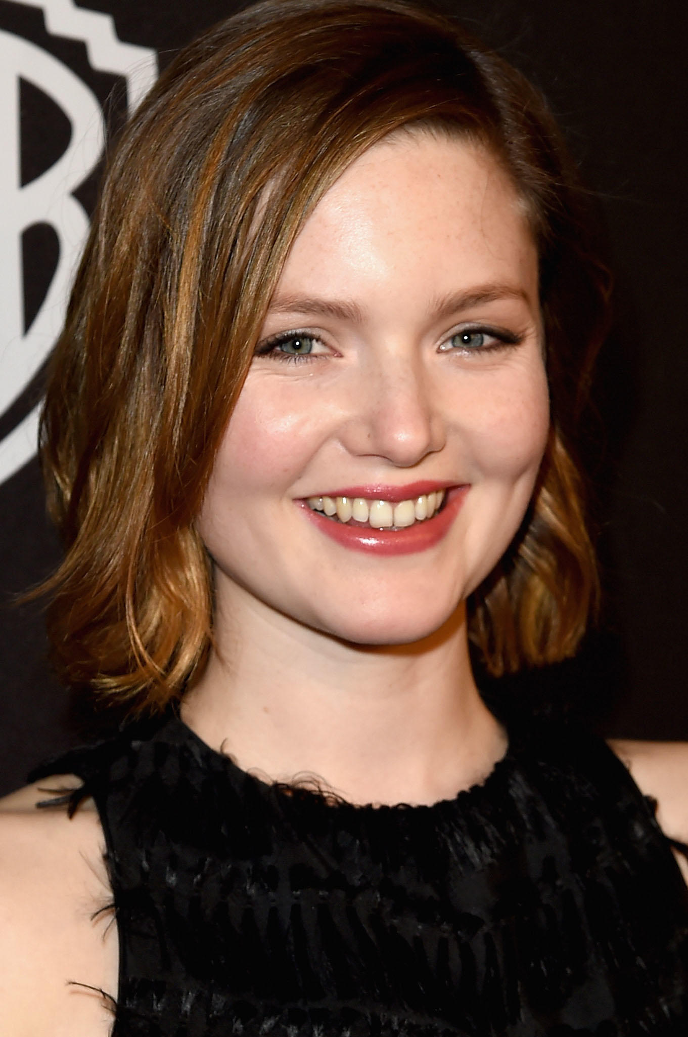 Holliday Grainger at the 2016 InStyle and Warner Bros. Golden Globe Awards post-party in Beverly Hills, CA.