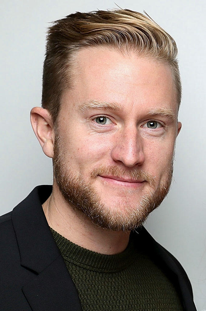 Aaron Kopp during the 61st BFI London Film Festival.