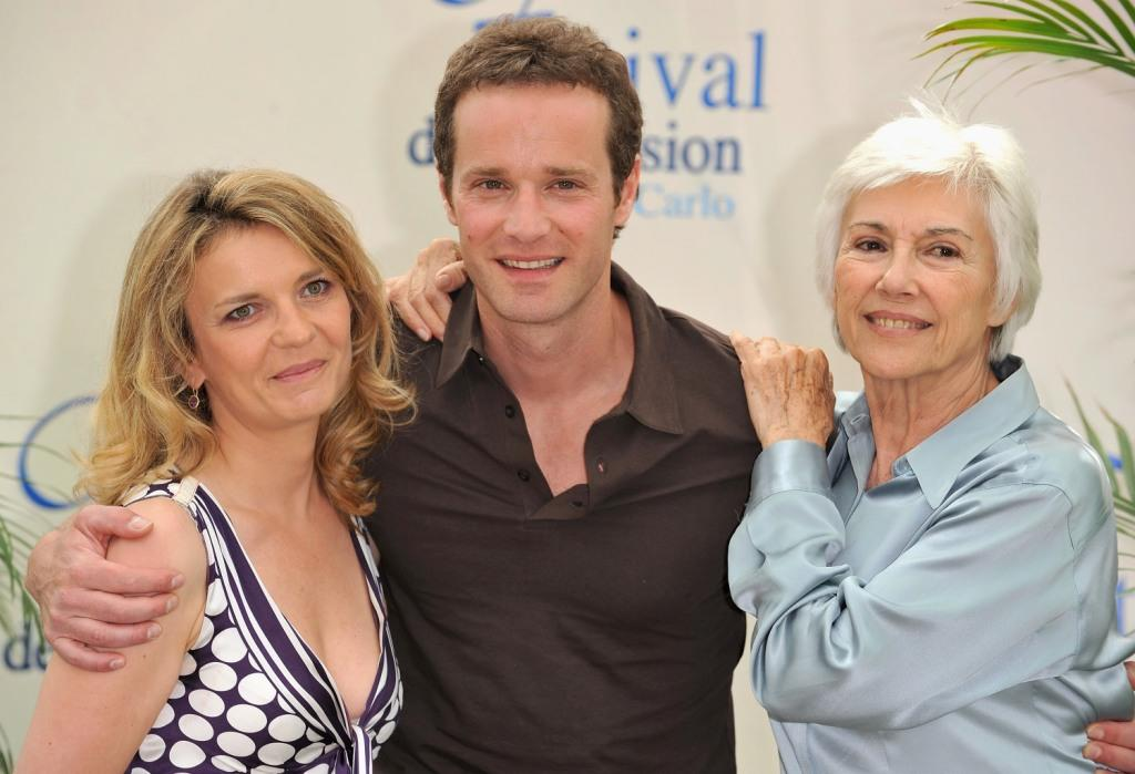 Sophie de la Rochefoucauld, Guillaume Cramoisan and Nadine Alari at the promotion of