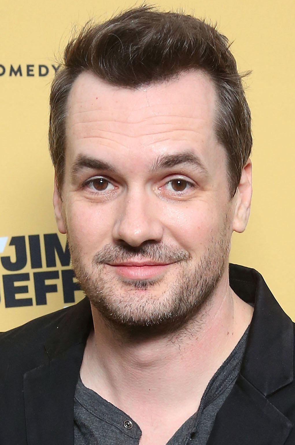 Jim Jefferies at the Comedy Central premiere party for