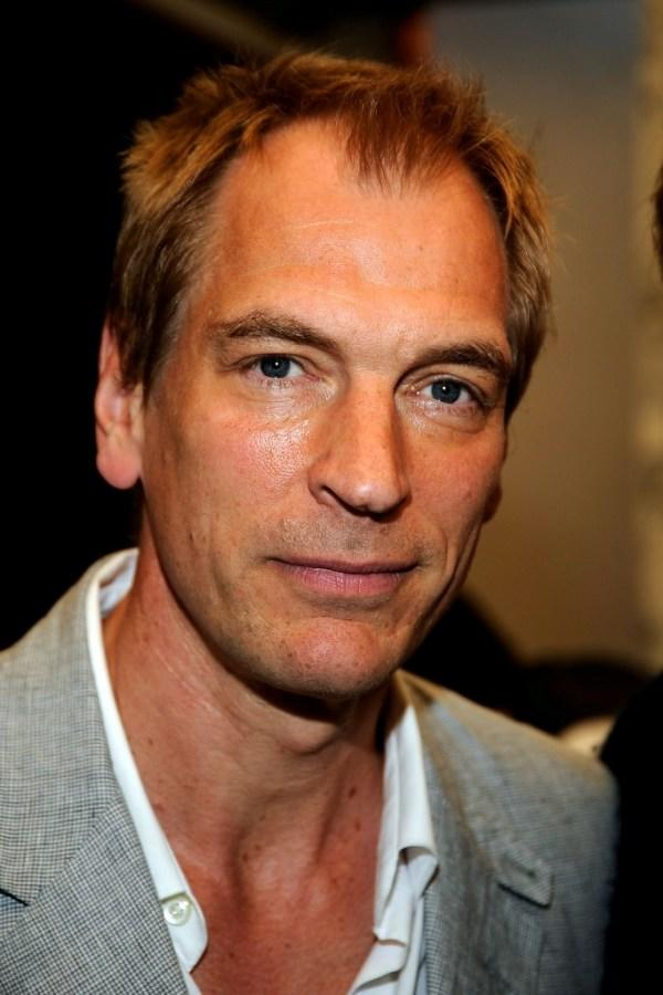 Julian Sands at the UK Film Council US Post Oscars Brunch.