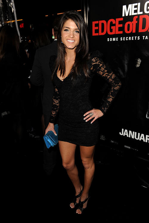 Marie Avgeropoulos at the California premiere of