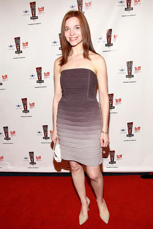 Laura Heisler at the 26th Annual Lucille Lortel Awards in New York.