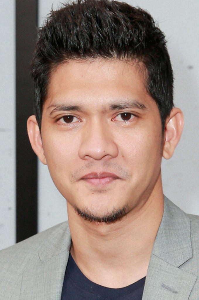 Iko Uwais at the premiere of