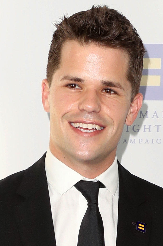 Max Carver at the Human Rights Campaign 2017 Los Angeles Gala Dinner.