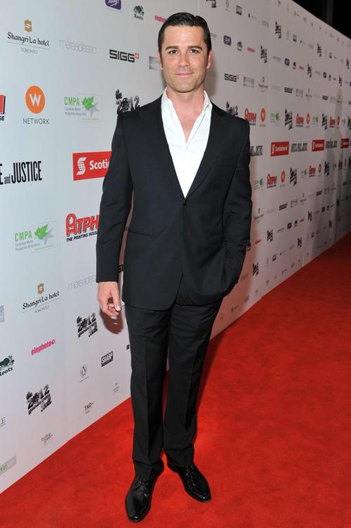 Yannick Bisson at the Rising Stars: 2012 Producers Ball during the 2012 Toronto International Film Festival.