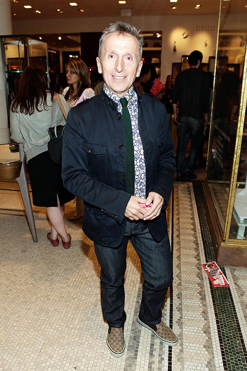 Simon Doonan at the Barneys New York celebration of Fashion's Night Out .