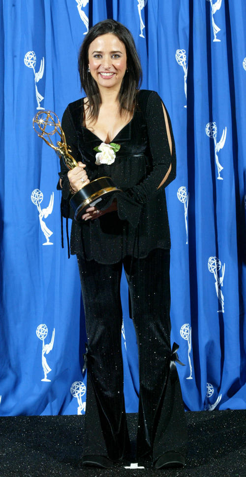 Pamela Segall at the 2002 Creative Arts Emmy Awards.
