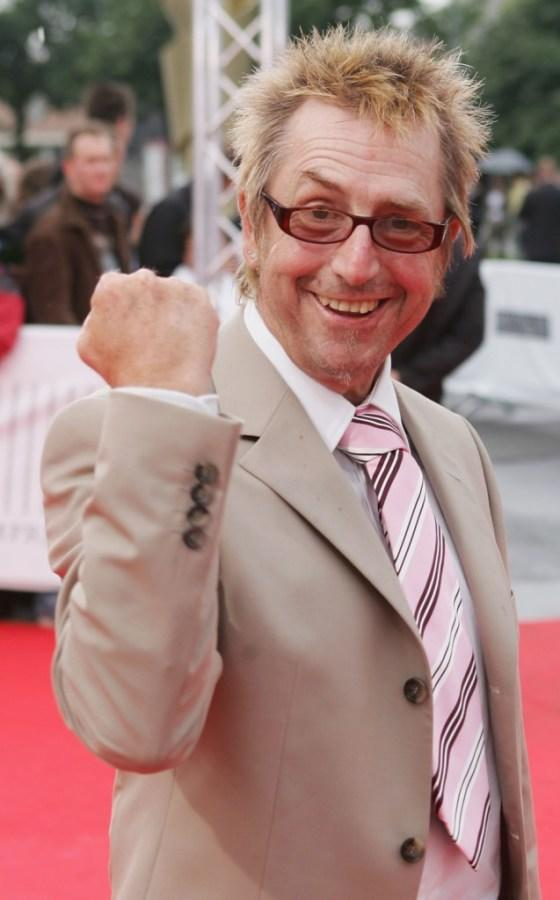 Martin Semmelrogge at the German Film Awards.