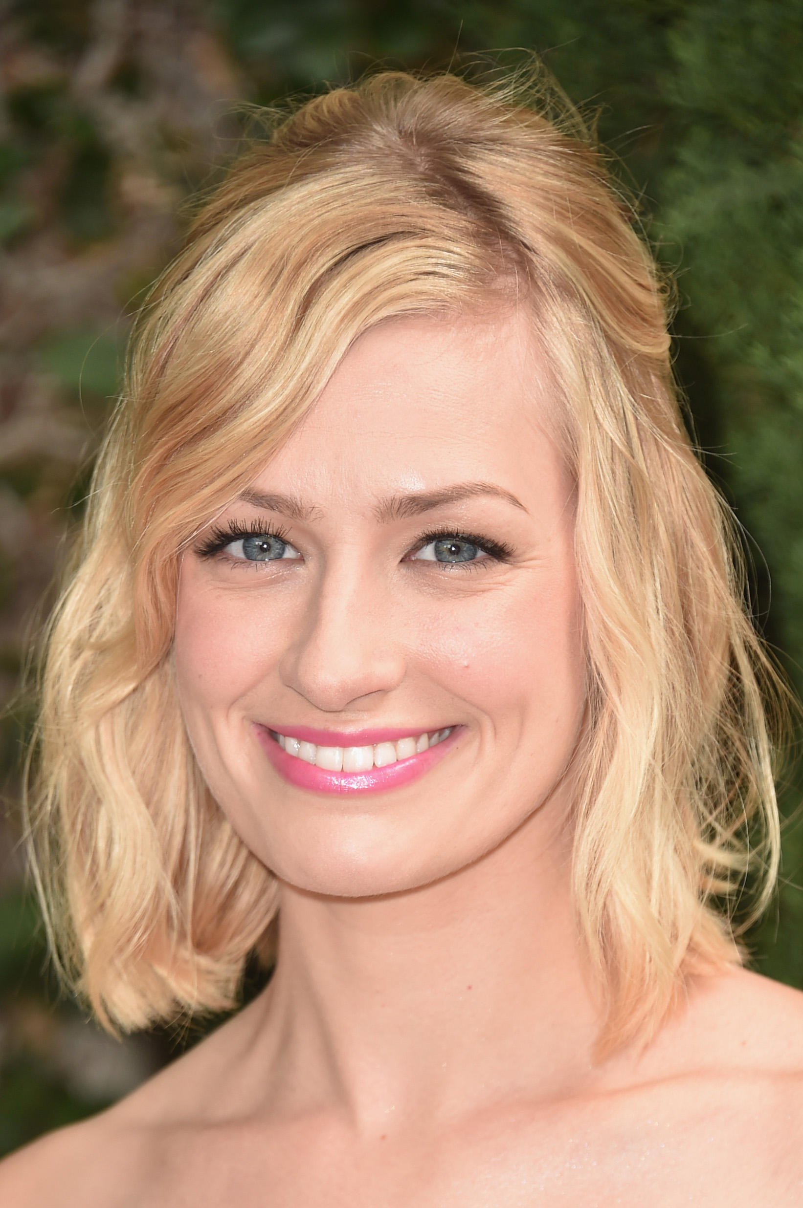 Beth Behrs at The Rape Foundation's annual brunch at Greenacres, The Private Estate of Ron Burkle.