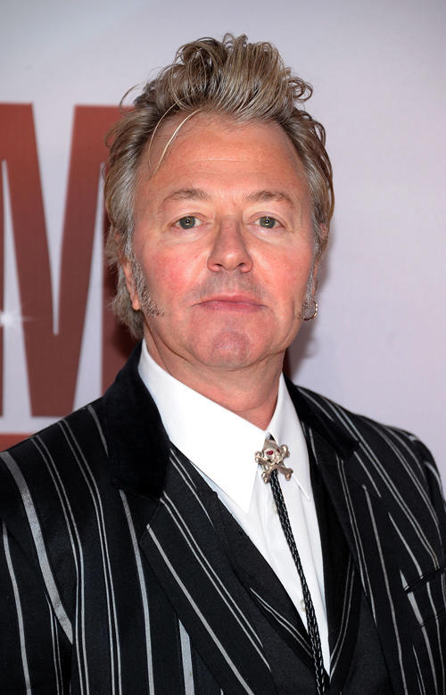 Brian Setzer at the 45th Annual CMA Awards.