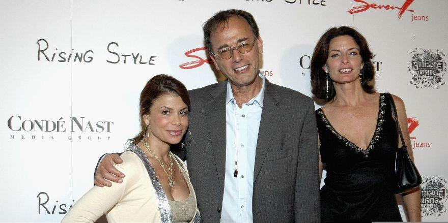 Paula Abdul, Gerard Guez and Joan Severance at the Seven7 Jeans Rising Style Celebration of Fashion and Music.