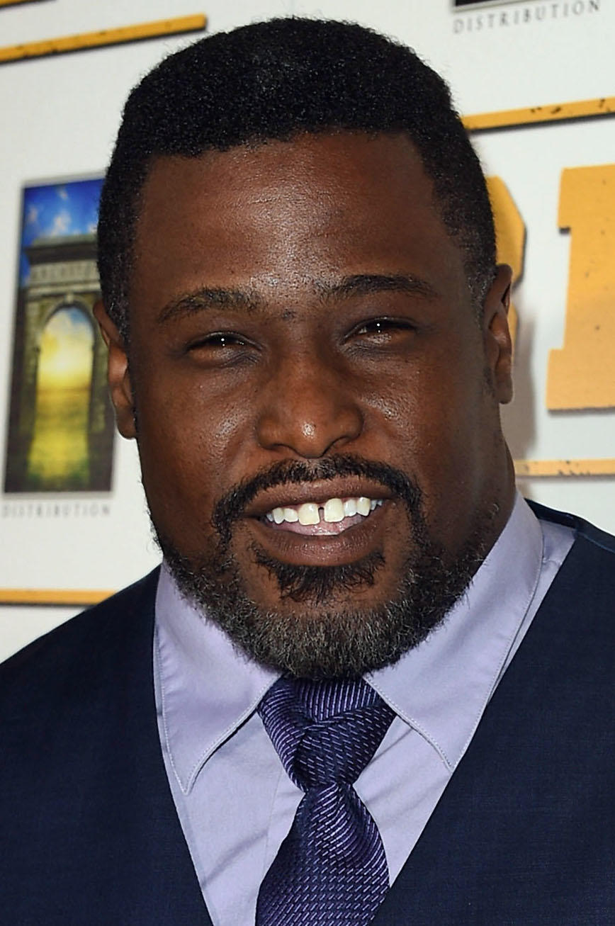 Jermaine Washington at the Los Angeles premiere of