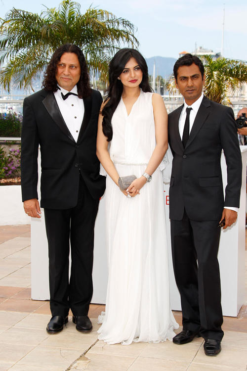 Anil George, Niharika Singh and Nawazuddin Siddiqui at the photocall of