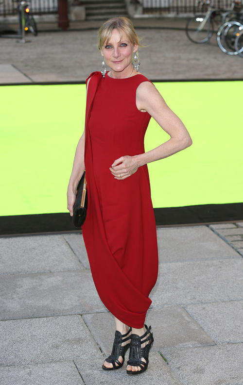 Lesley Sharp at the Royal Academy of Arts Summer Exhibition 2013 in England.