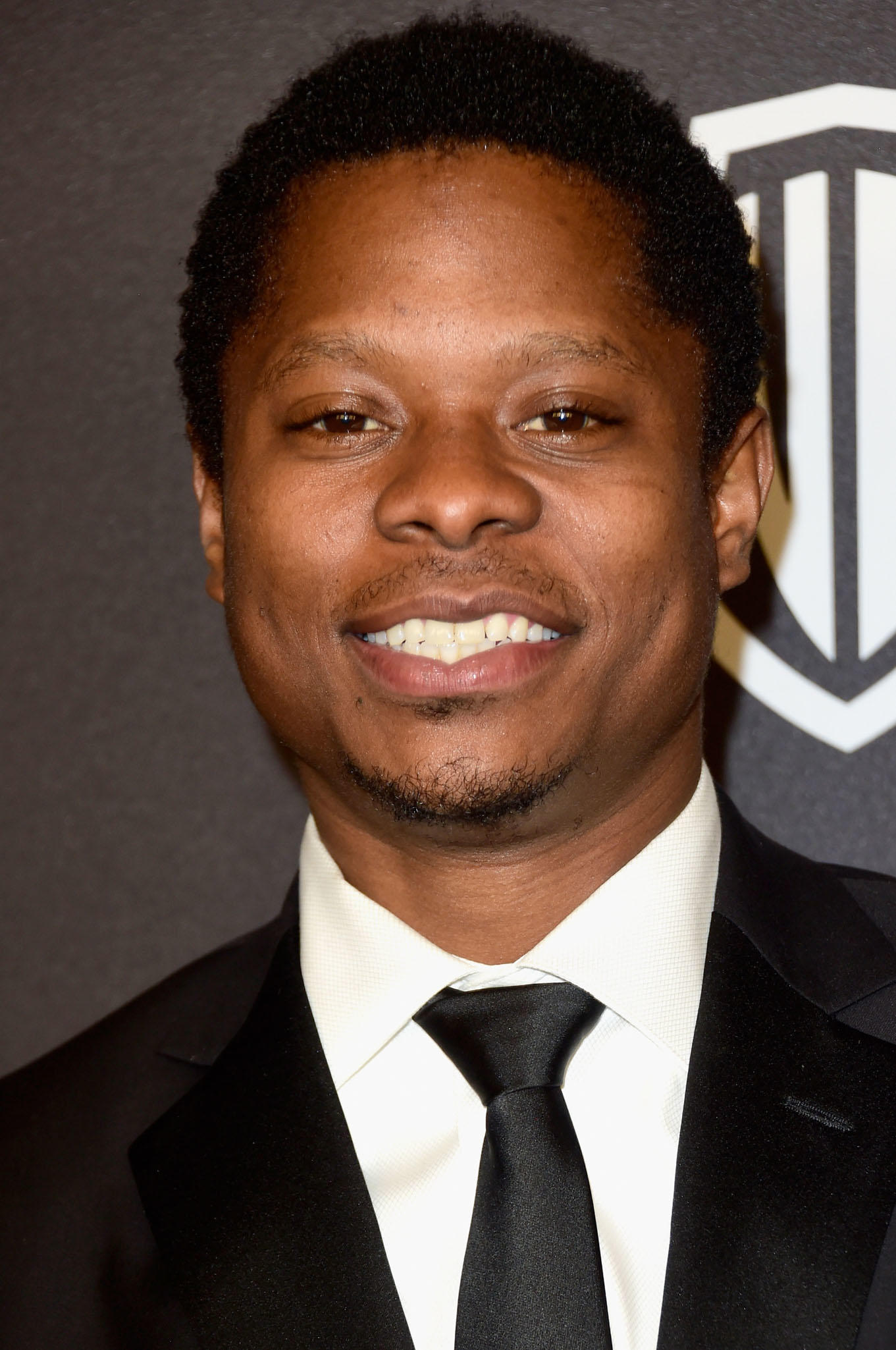 Jason Mitchell at InStyle and Warner Bros. 73rd Annual Golden Globe Awards Post-Party in Beverly Hills.