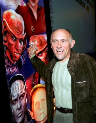 Armin Shimerman at the Star Trek convention.