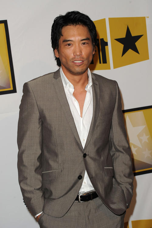 Peter Shinkoda at the Critics' Choice Television Awards in California.